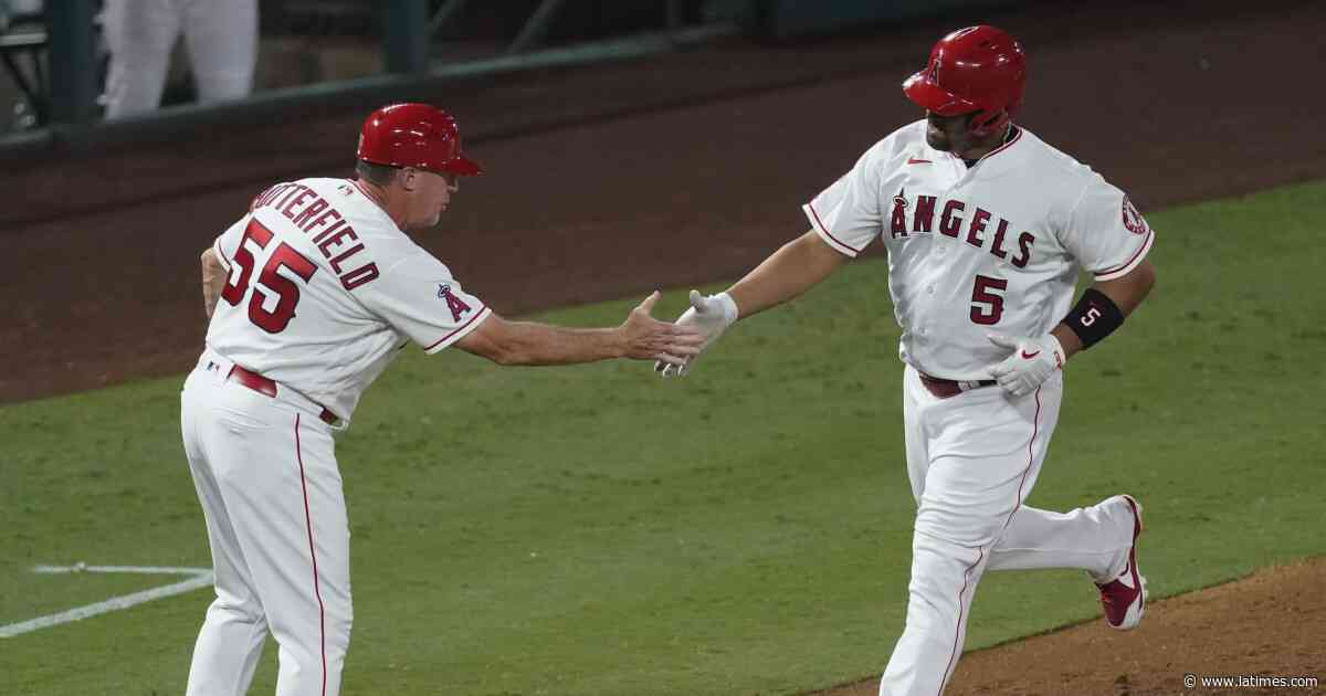 Albert Pujols passes Willie Mays on home run list as Angels beat Rangers
