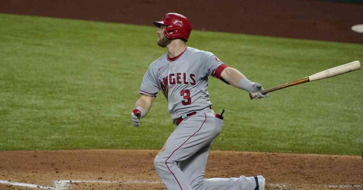 Taylor Ward is impressing during Angels' last-minute playoff push and that isn't a bad thing