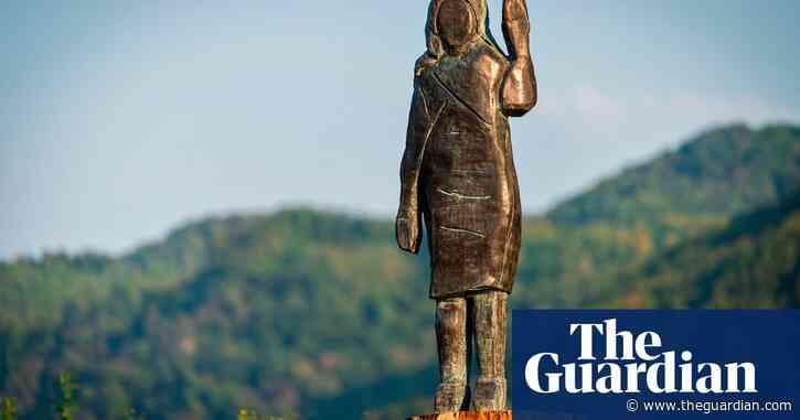 'Frustrations at US policies' behind Melania Trump statue, says artist