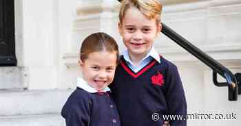 George and Charlotte exempt from new school rule as they return to classroom