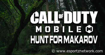 Call of Duty: Mobile introduces Hunt for Makarov - Esportz Network