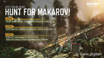 Call of Duty: Mobile's Hunt for Makarov event starts tomorrow: Here's what you need to know - Digit