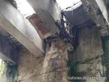 Colapsó del Puente La Unión entre Ragonvalia y Chinácota - Canal TRO