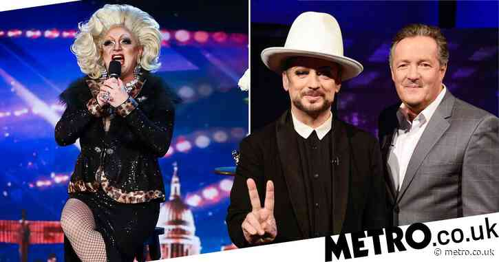 Piers Morgan and Boy George  'clashed' over Britain's Got Talent comedian Myra Dubois: 'There was quite a Twitter spat'