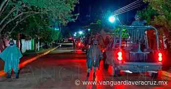 Temor por movimiento de soldados en Sayula de Alemán - Vanguardia de Veracruz