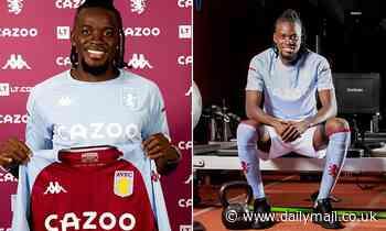 Aston Villa confirm £19m signing of forward Bertrand Traore from Lyon