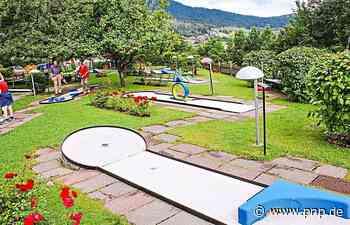 Minigolfer dürfen Anlage bauen - Tittling - Passauer Neue Presse
