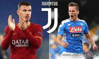 Edin Dzeko 'torn between playing against Hellas Verona TONIGHT or preparing for Juventus medical'
