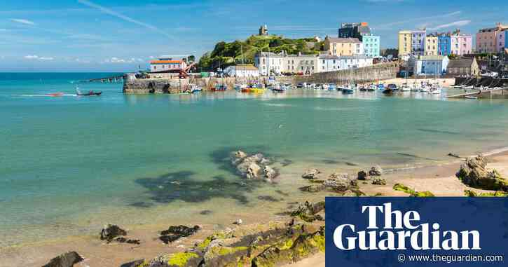Family fun and coasteering in Tenby, Wales