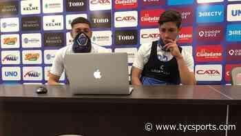 """Gonzalo Abrego: """"Soy hincha y es una alegría llegar a la primera de Godoy Cruz"""" - Liga Profesional de Fútbol en TyCSports.com"""