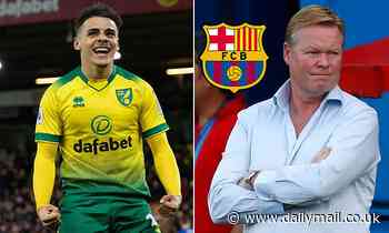 Norwich 'REJECT two Barcelona bids for right-back Max Aarons, as Bayern Munich weigh-up move