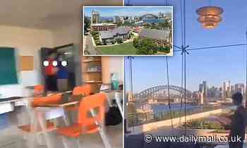 Students at one of Sydney's most elite school's boast about their luxury facilities