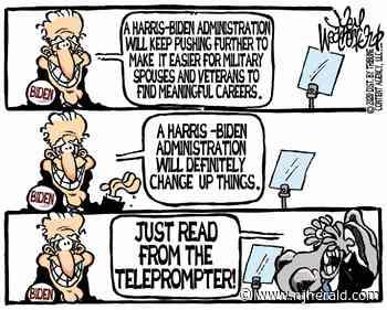 Weatherford cartoon: Biden off script - New Jersey Herald