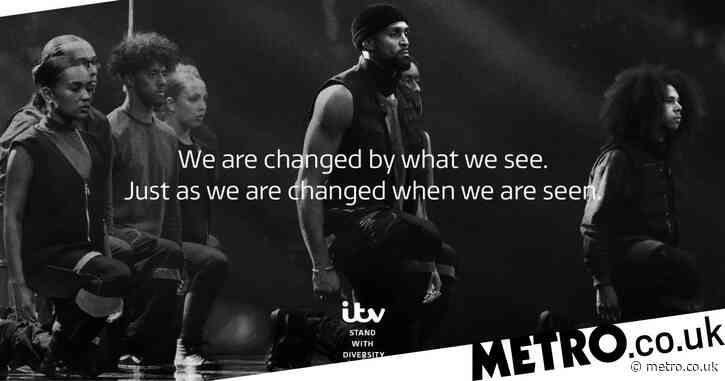ITV 'stands with' Diversity after 24,000 complaints over BLM performance as it issues anti-racism message
