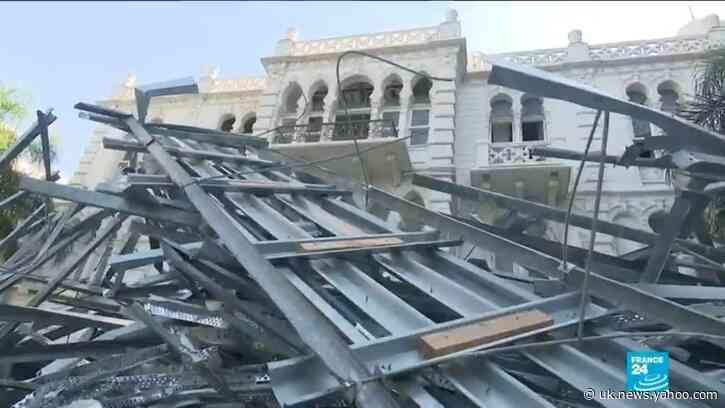 Beirut blast: International community mobilises to rescue Lebanon's heritage