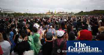 Thousands gather in Thailand for anti-government protest