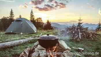 Zelten: So machen Sie beim Camping ohne Campingplatz keine teuren Fehler