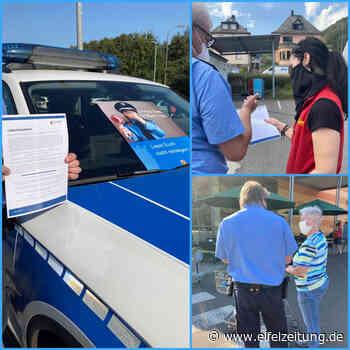 Wer auflegt, gewinnt Polizisten informieren in Waldrach und Kordel - Eifel - Zeitung - Eifel Zeitung