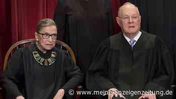 Ruth Bader Ginsburg ist tot: Donald Trump spricht über Nachfolge