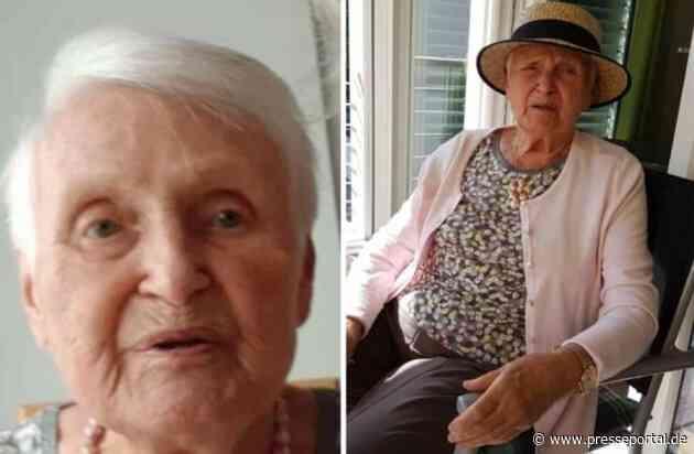 POL-RBK: Wermelskirchen - Polizei bittet um Mithilfe bei Suche nach vermisster Seniorin