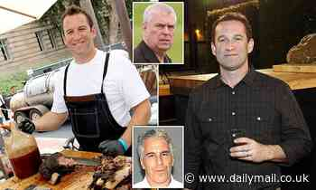 British celebrity chef who worked for Jeffrey Epstein for four years is 'fully cooperating' with FBI