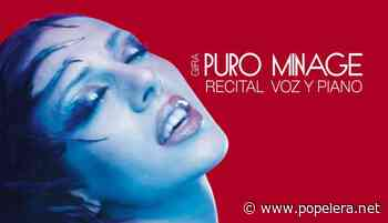 Mónica Naranjo anuncia la gira 'Puro Minage' - Popelera.net