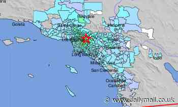 Southern California is rocked by a 4.5 magnitude earthquake