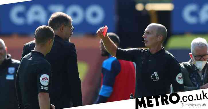 Hargreaves defends Slaven Bilic over half-time red card after Kieran Gibbs is sent off vs Everton
