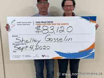 New Liskeard woman wins Sudbury hospital draw - Northern Daily News