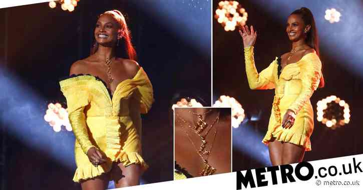 Alesha Dixon shows support for Diversity with Black Lives Matter necklace on BGT semi-final