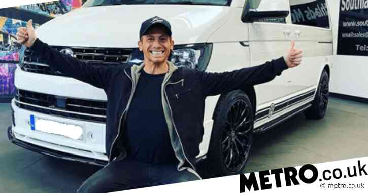 Joe Swash surprises Stacey Solomon with giant camper van – which she calls a 'monstrosity'