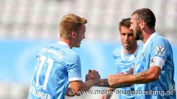 TSV 1860 in Meppen im Ticker: Mega-Mölders zeigt einmal mehr grandiose Show - Blitzstart dank Lex