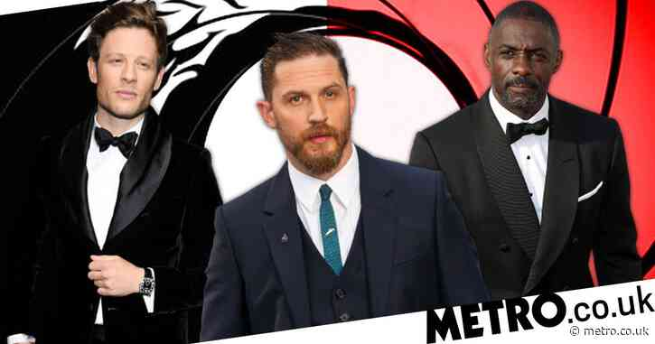 Tom Hardy odds-on new James Bond say bookies as Venom star overtakes James Norton and Idris Elba