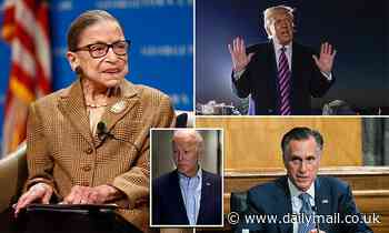 Trump says he is obligated to nominate a replacement for RBG without delay