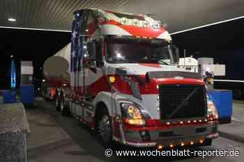 LKW-Kontrolle auf A6 bei Waldmohr: Über 110 Lampen auf Amerika-Truck - Waldmohr - Wochenblatt-Reporter