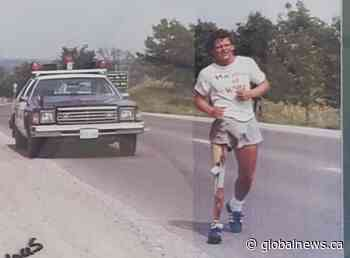 Madoc father and son's connection with the 40th annual Terry Fox Run | Watch News Videos Online - Globalnews.ca