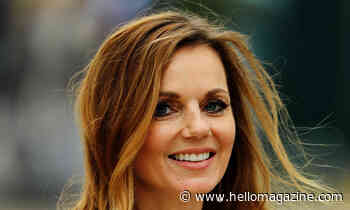 Geri Horner has the most beautiful dining table at home