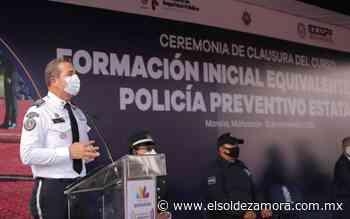 Se gradúan policías de Uruapan, Zitácuaro y Jiquilpan - El Sol de Zamora