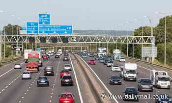 Woman injured when she fell from a moving car onto the M25 as she tried to capture Snapchat video