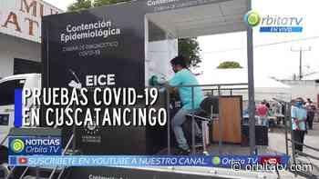 Pruebas de tamizaje por COVID-19 a habitantes del municipio de Cuscatancingo - Canal de Noticias de El Salvador - Orbita TV