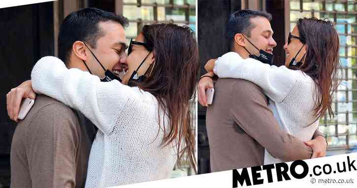 Katie Holmes and Emilio Vitolo Jr can't keep hands off each other during NYC date