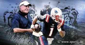 NFL: Bill Belichick stellt New England Patriots für Cam Newton um - SPORT1