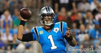 NFL: Cam Newton unterschreibt bei den New England Patriots - SPORT1