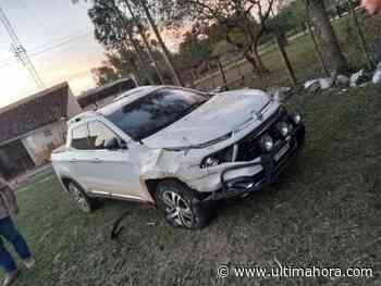 Guairá: Intentó darse a la fuga tras protagonizar accidente fatal - ÚltimaHora.com
