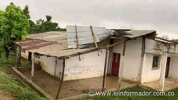 Fuerte vendaval causa estragos en Santa Bárbara de Pinto - El Informador - Santa Marta
