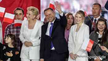 Kritik an Polens Präsident: Duda macht seine Tochter zur Beraterin - DER SPIEGEL