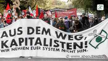 Hamburg: 800 Demonstranten ziehen durch Rotherbaum zur Alster