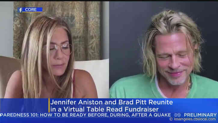 Brad Pitt, Jennifer Aniston Reunite For 'Fast Times At Ridgemont High' Virtual Table Read