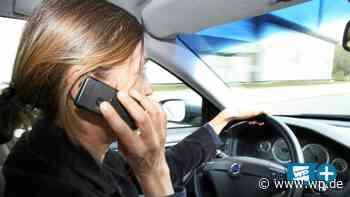 Schwelm: 63 Mal mit Handy am Steuer erwischt - WP News