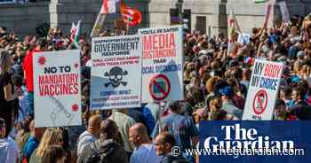 More than 30 arrested during coronavirus protests in London - The Guardian